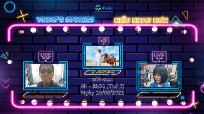 Chương trình Talk Show - VIHAT's Stories Ngày 18.09.2021